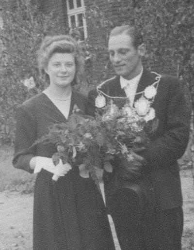 1949 – Anton I. (Schmitz) und Königin Elisabeth