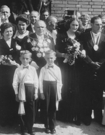 1950 – Philipp I. (Mattheisen) und Königin Agnes