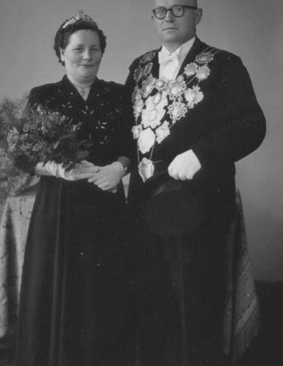 1952 – Hermann II. (Kreuels) und Königin Anna
