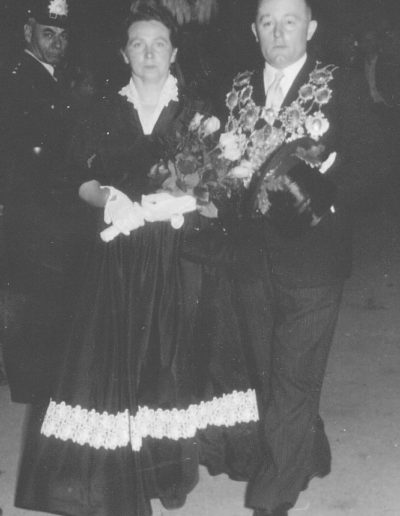 1953 – Engelbert II. (Rütten) und Königin Maria