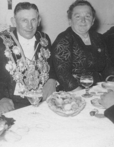 1955 – Alois I. (Schmitz) und Königin Agnes