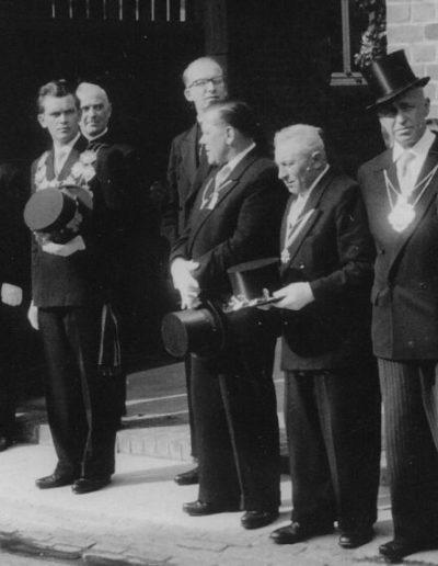 1958 – Hermann III. (Jansch) und Königin Annemarie