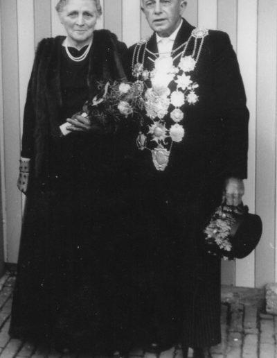 1959 – Martin II. (Wirtz) und Königin Anna
