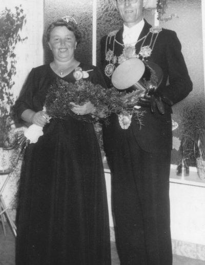 1960 – Peter VIII. (Haas) und Königin Johanna