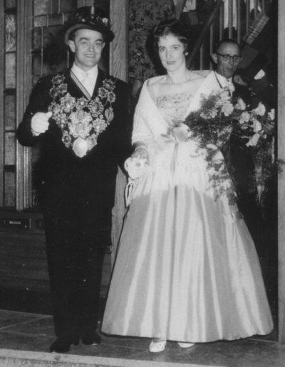 1961 – Wilhelm V. (Bongartz) und Königin Maria Helena
