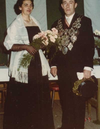1962 – Christian II. (Jaeger) und Königin Eva