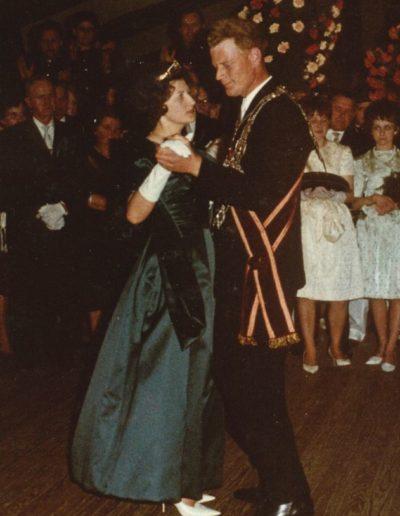 1963 – Hero I. (Rodenbeck) und Königin Irmgard