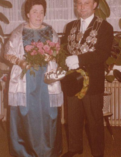 1964 – Wilhelm VI. (Rütten) und Königin Anna