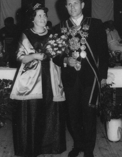 1966 – Wilhelm VII. (Kragt) und Königin Maria