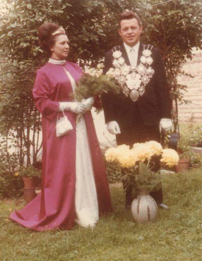 1968 – Hubert IV. (Schiffer) und Königin Margreth