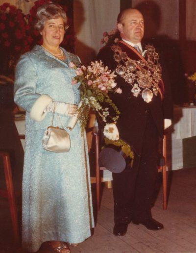 1969 – Walter I. (Conzelmann) und Königin Martha