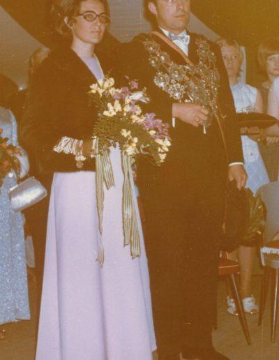 1970 – Matthias VI. (Schmitz) und Königin Elisabeth