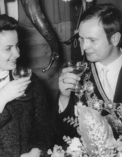 1971 – Adam V. (Jansch) und Königin Marie-Luise
