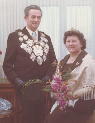 1973 – Christian III. (Bordelius) und Königin Margarethe