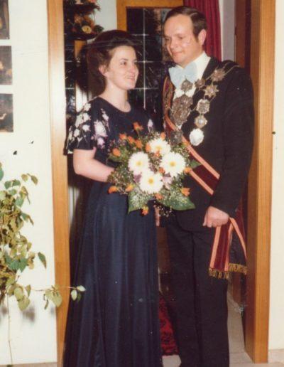 1977 – Adam VI. (Jansch) und Königin Marie-Luise