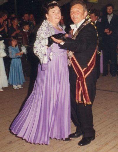 1980 – Peter X. (Hansen) und Königin Gertrud