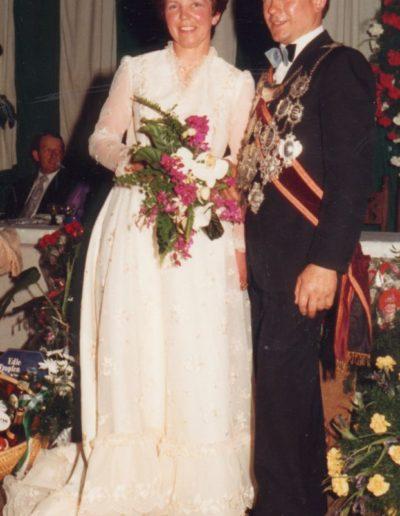 1981 – Heinrich VIII. (Roesberg) und Königin Agnes