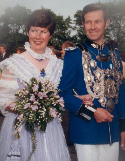 1984 – Günther I. (Neukirchen) und Königin Anneliese