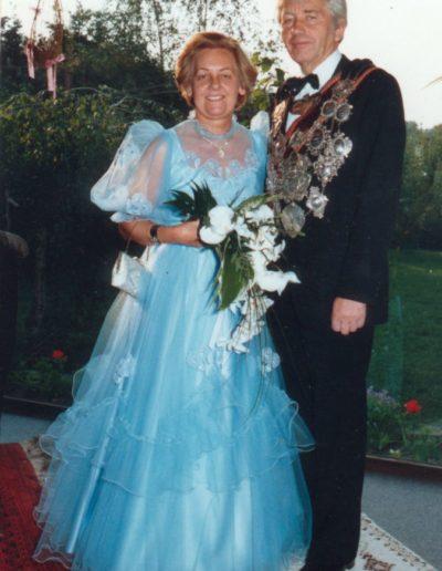 1987 – Johannes II. (Dr. Hartlieb) und Königin Annemarie