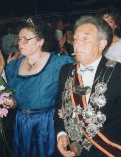 1988 – Peter XI. (Hansen) und Königin Gertrud