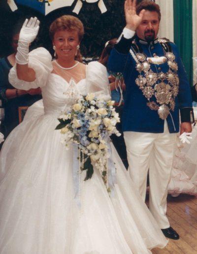 1989 – Toni I. (Heidkamp) und Königin Margret