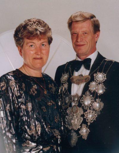 1990 – Wilfried I. (Dreyer) und Königin Ursel