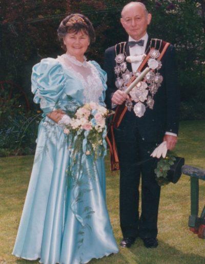 1991 – Toni II. (Rütten) und Königin Agnes