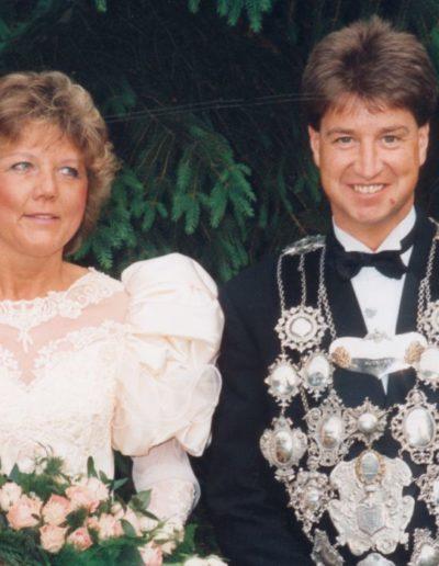 1993 – Martin III. (Tusker) und Königin Gisela