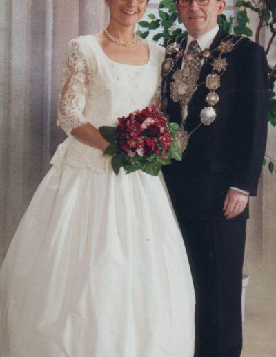 1996 – Johannes III. (Kreuels) und Königin Angela