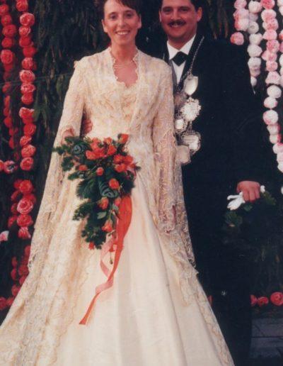 1997 – Hans Peter I. (Laubenthal) und Königin Brigitte