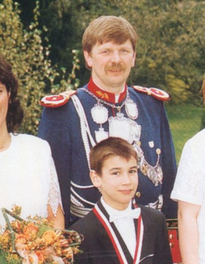 1999 – Alfred I. (Stenbrock) und Königin Gudrun