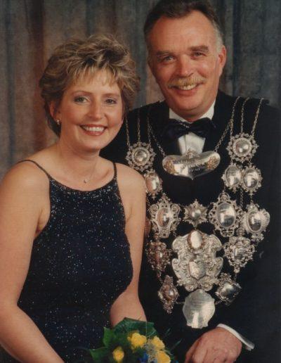 2001 – Kurt I. (Pociot) und Königin Bärbel