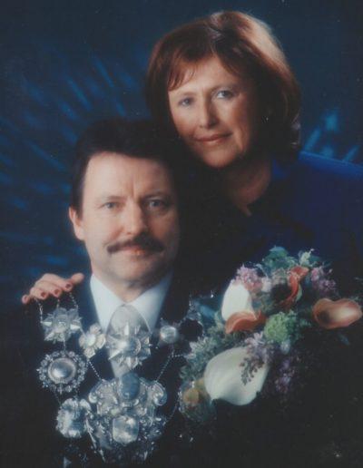 2003 – Jürgen I. (Thrandorf) und Königin Karin