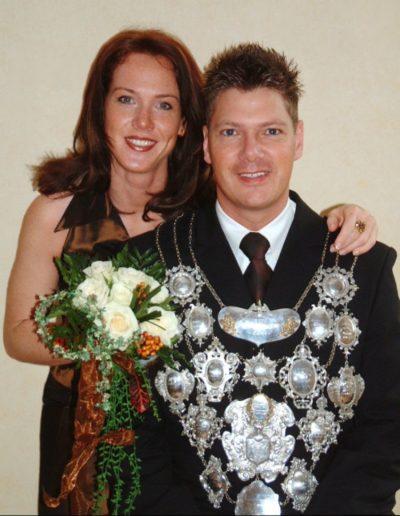 2004 – Andre I. (Schmitz) und Königin Romy