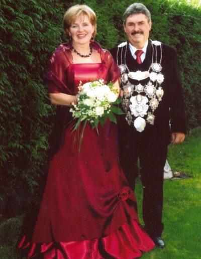 2009 – Herbert I. (Weitz) und Königin Gabriela