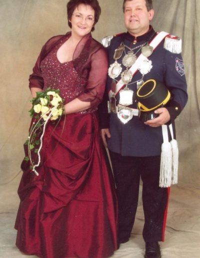 2011 – Karl-Josef I. (Offer) und Königin Dagmar