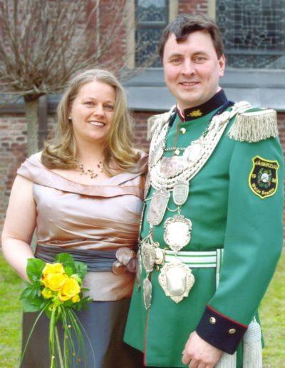 2012 – Thomas I. (Stenbrock) und Königin Katja