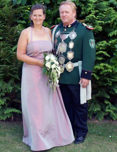 2013 – Stephan II. (Brandt) und Königin Sandra