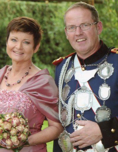 2015 – Wolfgang II. (Offer) und Königin Helga