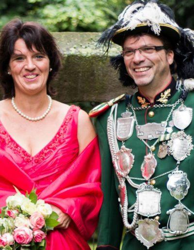 2016 – Stefan III. (Heibel) und Königin Michaela
