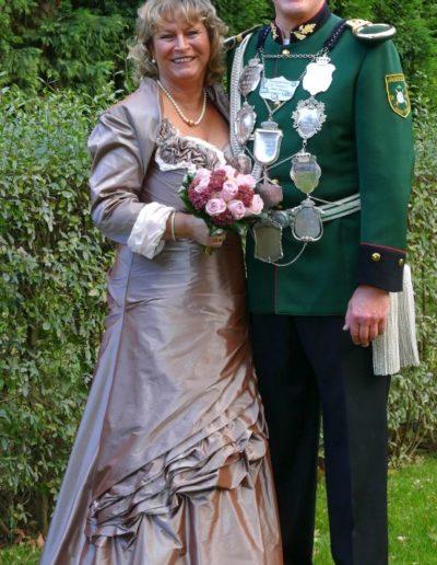 2019 – Gerald I. (Roesberg) und seine Königin Elke